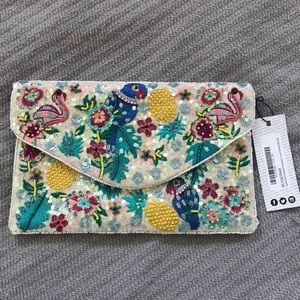 Gorgeous Embroidered Clutch